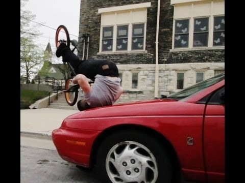 Tim Knoll's Incredibly Creative Bike Tricks
