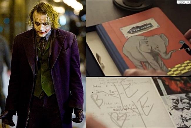 Video: Heath Ledger's Mesmerizing Joker Diary For The Dark Knight