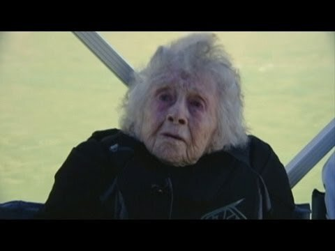 102-Year-Old Woman Dorothy Custer Base Jumps on Birthday