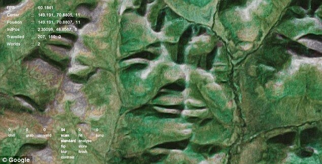 'Google Faces' Project Is Scanning For Globally Hidden Landscape Faces.