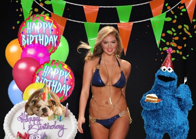 It's Kate Upton's 21st Birthday So Let's Throw Her A GIF Party