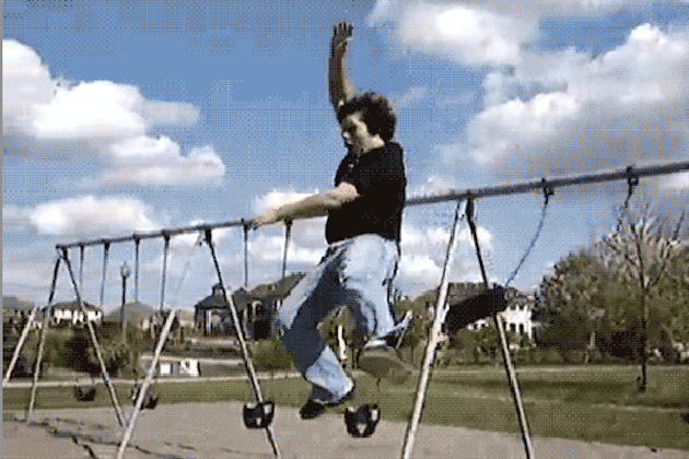 7 People Who Totally Regret Ever Getting on a Swing