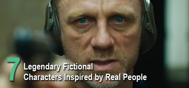 Legendary Fictional Characters Inspired By Real People
