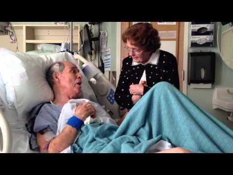 Man Lovingly Sings 'You Are My Sunshine' to His Wife From Hospital Bed
