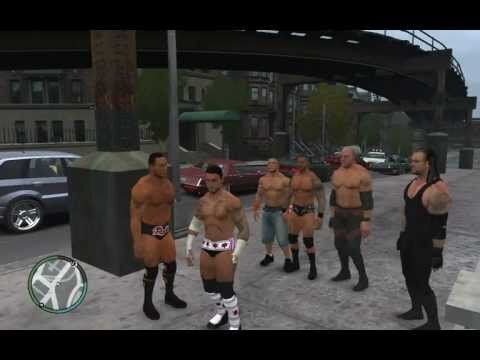 What if WWE Superstars Were in Grand Theft Auto IV?