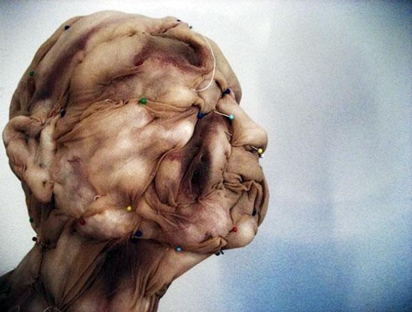 Nylon Stockings Transformed Into Horrifying Monsters
