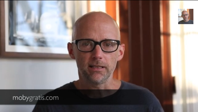 Moby Is Letting Filmmakers Use His Music For Free
