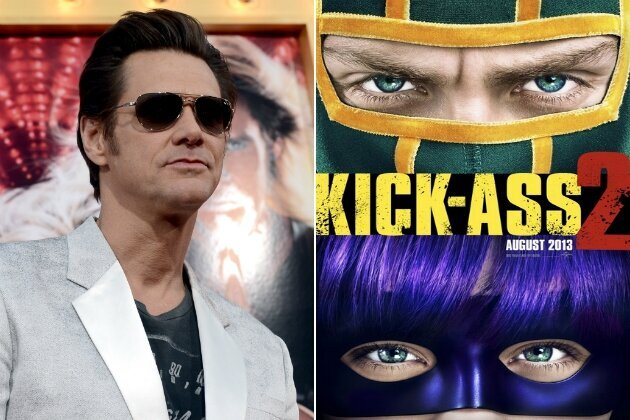 Jim Carrey Disses His Movie 'Kick Ass 2′ Because It's to Violent