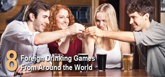 8 Fun Foreign Drinking Games From Around The World