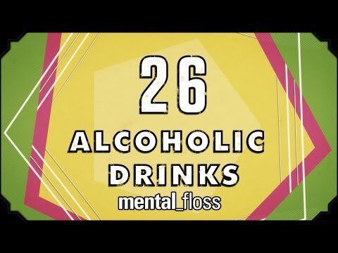 The stories behind 26 alcoholic drinks