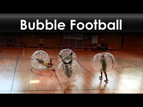 Bubble Soccer, This Sport Looks Awesome! (Video)