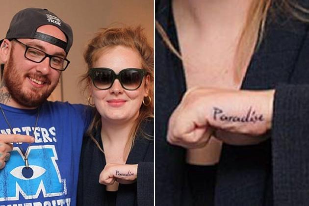 Adele's New Tattoo Looks Oddly Familiar