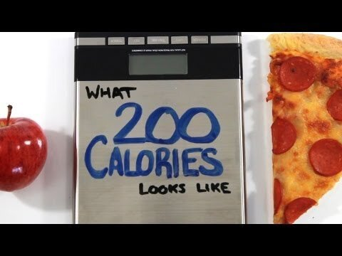 How much is 200 calories of different foods and what does it matter?