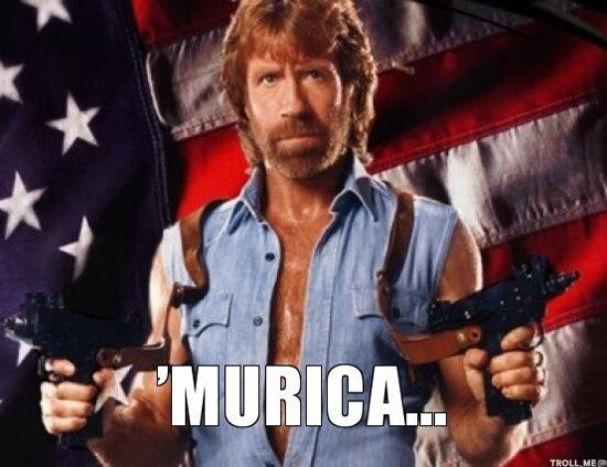 This Is America!! Merica!! Have A Happy 4th Of July