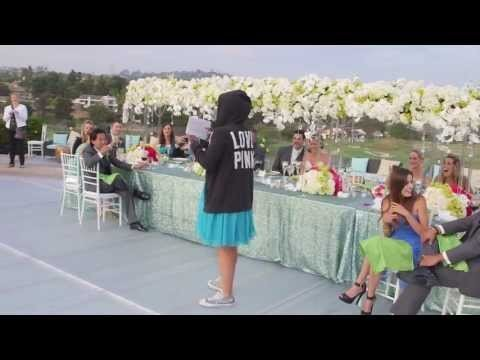The Best Maid of Honor Toast Ever!? (Eminem Rap)