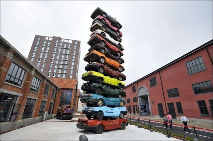 Old Cars Tower in China