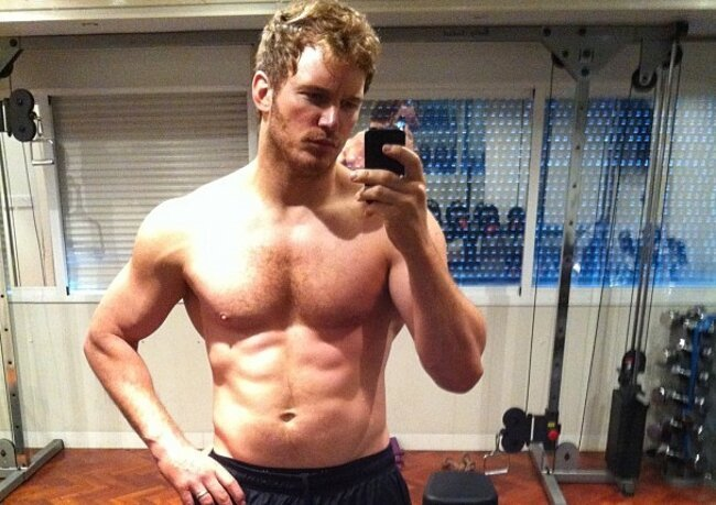 Chris Pratt Is Looking Ripped For 'Guardians Of The Galaxy'