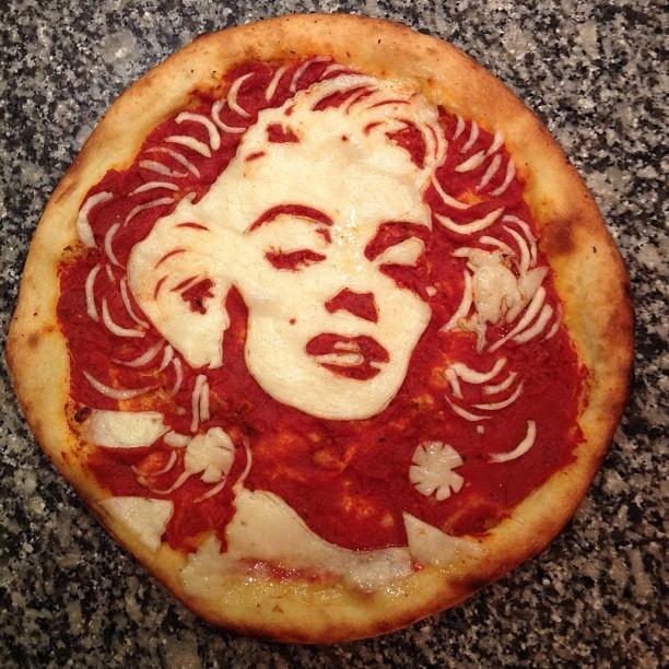 Creative Celebrity Pizza Portraits by Domenico Crolla