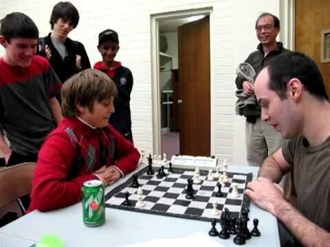 10-year-old beats international chess master in a 4-minute game