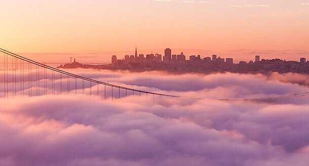 A Stunning Two Year Time-lapse Of San Francisco's Fog