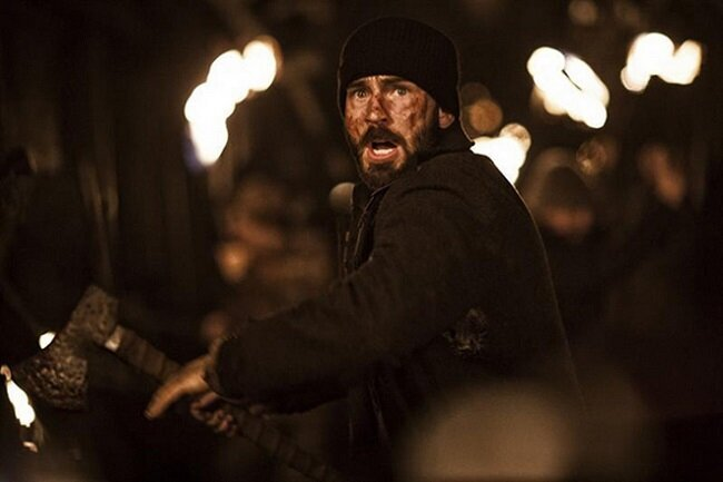 Chris Evans Brought An Axe To New 'Snowpiercer' Trailer And Videos