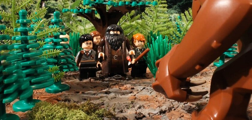 Harry Potter and Star Wars Collide When Hagrid Gets a Pet Rancor