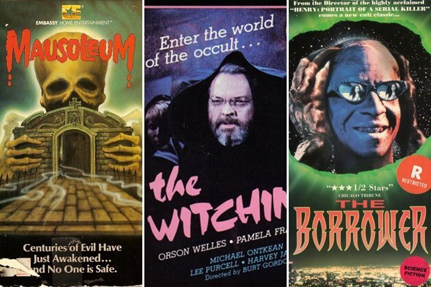 Awesome VHS Covers Remind Us Why Netflix loses to the Video Store