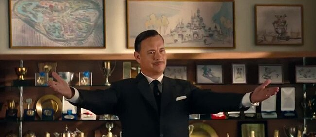 Movie Trailer: Saving Mr. Banks, starring Tom Hanks as Walt Disney