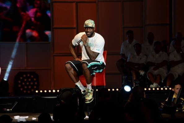 LeBron James Rapped! AND It wasn't terrible.