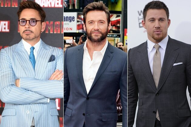 Robert Downey Jr., Channing Tatum and Hugh Jackman: Best Paid Actors