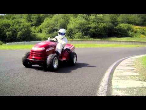 The Stig's Lawnmower
