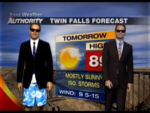 The Rapping Weatherman Is Back With Dope New Rhymes