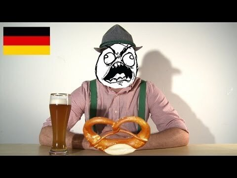 Comparing the harsh sounds of German to other gentler languages