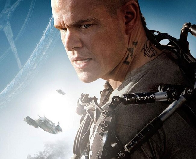 Matt Damon Fights The Power In The First Clip From 'Elysium'