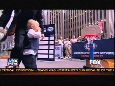 A 'Fox & Friends' Anchor Made Trick Shot Titus Cry