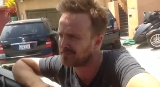 If You Visit Aaron Paul's House, He'll Say Hi