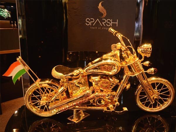 Very First Gold-Plated Bike