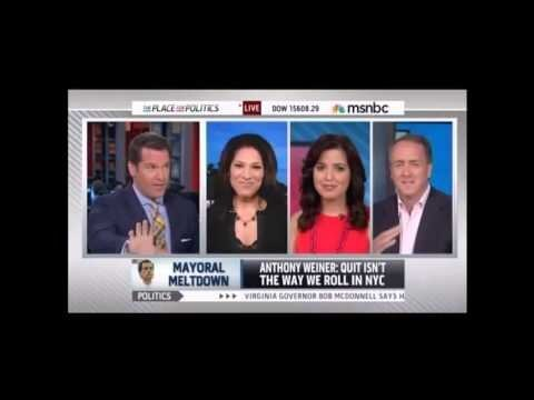 MSNBC Anchor Uses Dirty Word to Describe Anthony Weiner Texting Pal