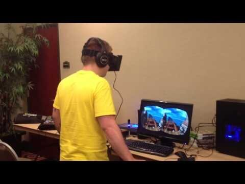 Man Afraid of Heights Rides Virtual Roller Coaster, Hilarity Ensues