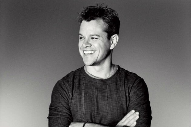 Matt Damon Goes Black and White for Esquire