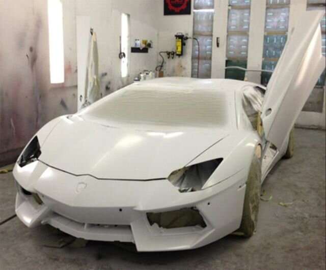 Chris Brown's Radically Customised Lamborghini Aventador
