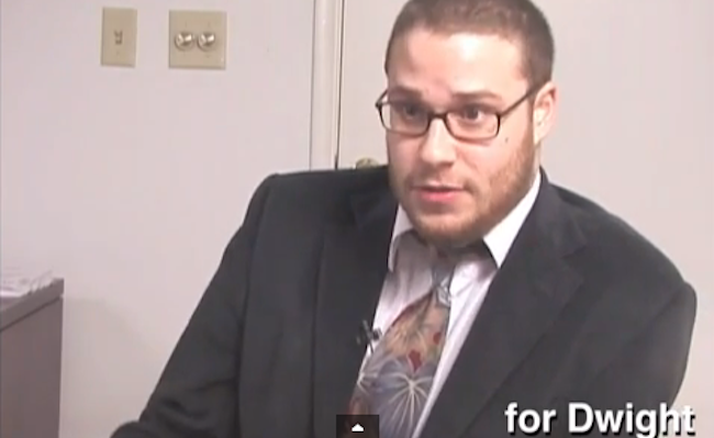 Watch The Unseen 'The Office' Audition Tapes With Seth Rogen
