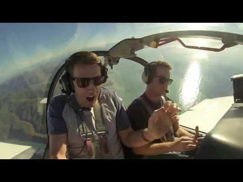 Man Afraid of Flying Foolishly Goes on Aerobatics Flight