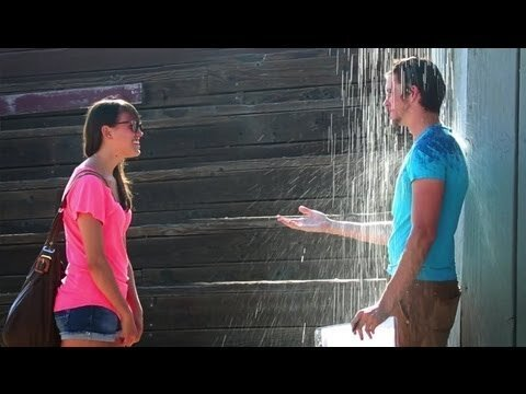 Man Uses Allure of 'The Notebook' to Get Strangers to Kiss Him
