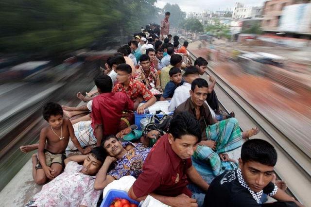 Celebration Chaos in Bangladesh