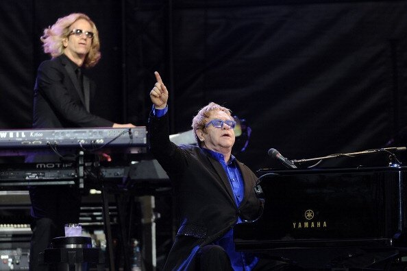 Video: Watch Elton John Sing 'Your Song' Over Four Decades