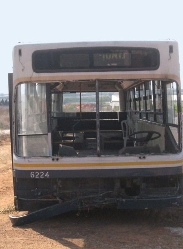 Women Turn a Scrapyard Bus into a Stylish Home