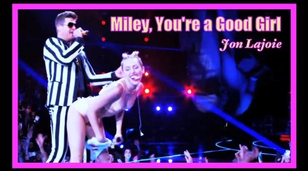 Listen To Jon Lajoie's Miley Cyrus Song
