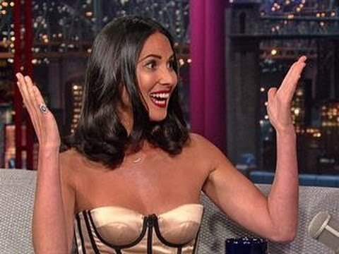 Watch Olivia Munn And Letterman Dissect Her Viral Swing Fall Video