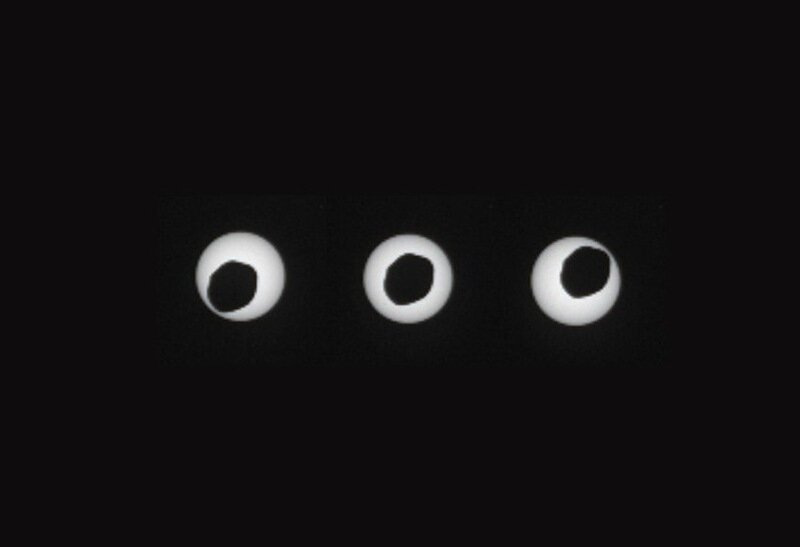 NASA's Mars rover spies solar eclipse